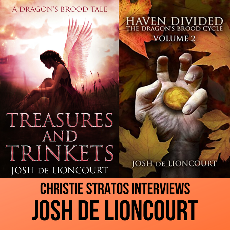 Josh de Lioncourt on the Writers' Showcase Podcast with Christie Stratos